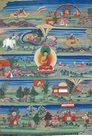 Buddhist Jataka tales, translated to Persian by Khosrow I