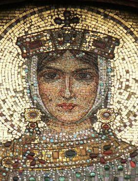 Empress Zoe Karbonopsina, wife of Leo VI and mother of Constantine VII