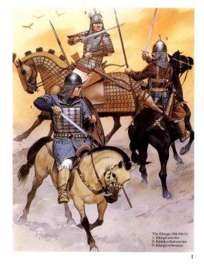 Gokturk warriors