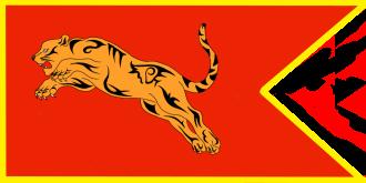 Chola Empire of India flag
