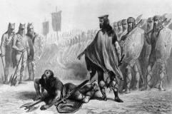 Clovis I of the Franks deposes Syagrius, 486