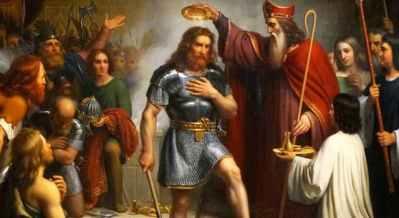 Baptism of Clovis I, 496