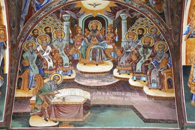 Theodosius I at the Council of Constantinople, 381