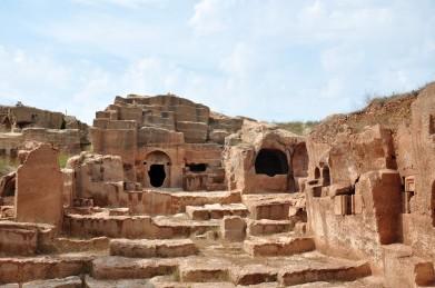 Dara Fortress in Mesopotamia, built under Anastasius I