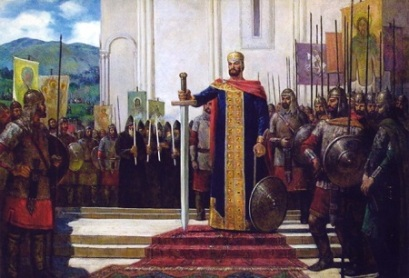 King David IV the Builder of Georgia (r. 1089-1125)
