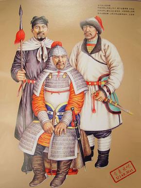 Jurchen (Jin) Dynasty warriors, 12th century