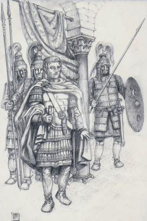 Magister Militum Flavius Aetius