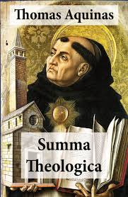 St. Thomas Aquinas, Dominican priest and author of Summa Theologica in 1265