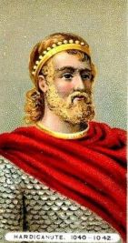 Harthacnut, King of Denmark (1035-1042) and King of England (1040-1042), son of Cnut the Great