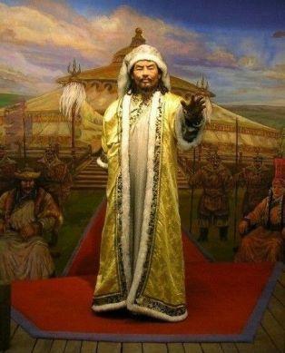 Bumin Khagan, founder of the Gokturk Empire (r. 551-552)