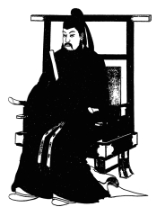 Emperor Tenji of Japan (r. 661-672)