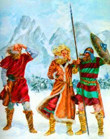 Lombards cross the Alps into Italy, 568