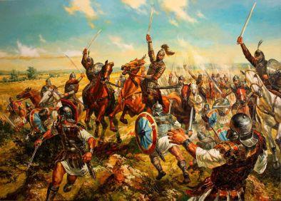 Bulgars invade the Byzantine Balkans, 680
