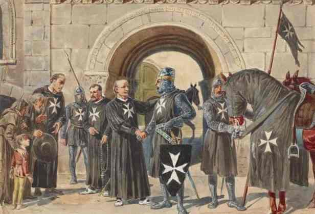 Hospitaller Knights for the Teutonic Knights Order, 1198