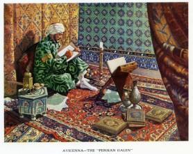 Persian scholar Avicenna (980-1037)