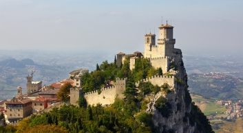 Country of San Marino within Italy