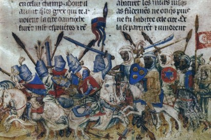 Crusaders lose to the Ayyubids and Khwarezmians at the Battle of La Forbie, 1244