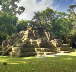 Uaxactun Mayan city