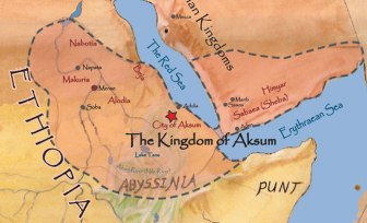 Himyar conquered by the Kingdom of Aksum in Ethiopia, 525