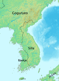 Division of Korea in the 4th century
