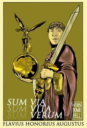 Emperor Honorius of the Western Empire