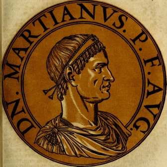 Byzantine emperor Marcian (r. 450-457)