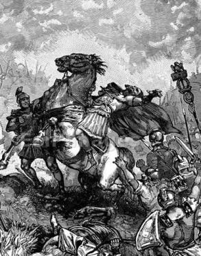 Death of Julian in Persian territory, 363