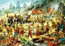 The Khmer Empire of Cambodia, 12th century