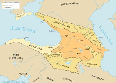 Kingdom of Georgia under Queen Tamar the Great (1184-1213)