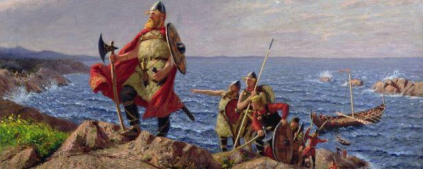 Leif Erikson arrives in North America (Vinland), 1000