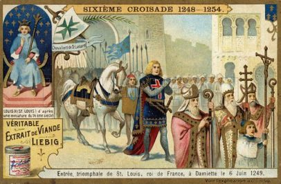 The 7th Crusade (1248-1254), led by King Louis IX of France