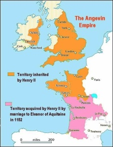 Territories of Henry II in England and France