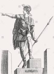 Western Roman emperor Majorian (r. 457-461)