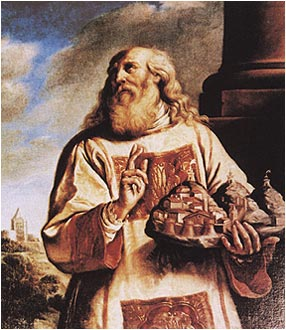 St. Marinus, founder of the country of San Marino in 301