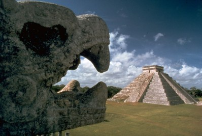 Mayan city of Chichen Itza, built in the 5th century