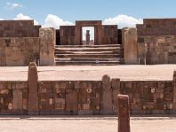 Remains of the 6th century Tiwanaku Empire of South America