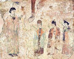 Nestorian Christians in China, 7th century