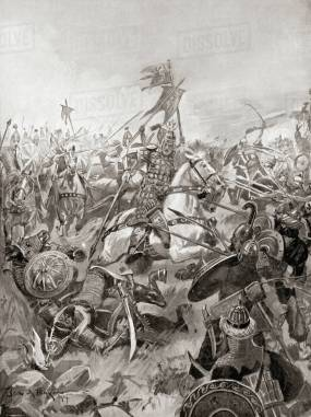 Byzantine victory at the Battle of Nineveh, 627