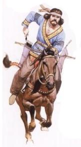 Huna (Hun) warrior in India