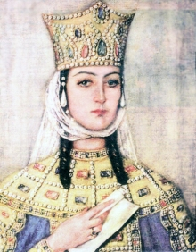 Queen Tamar the Great of Georgia (r. 1184-1213)