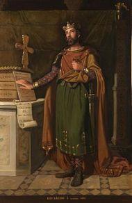 Reccared I, King of Visigoth Spain (r. 586-601)