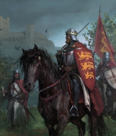 Richard I leads his army in the 3rd Crusade