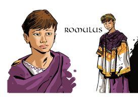 Romulus Augustus, the last Western Roman emperor (r. 475-476)