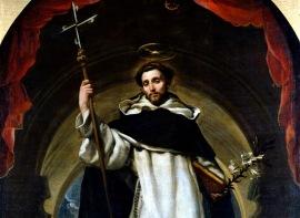 St. Dominic de Guzman, founder of the Dominican Order in 1216