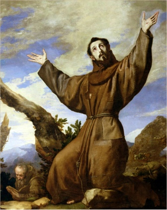St. Francis of Assisi, founder of the Franciscan Order in 1209