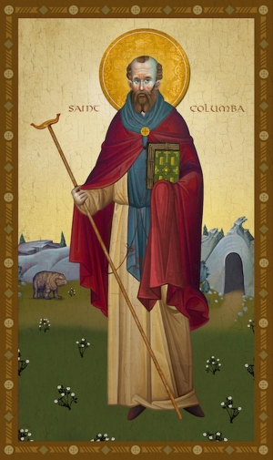 St. Columba, Irish missionary (521-597)