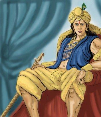 Samudragupta of the Gupta Empire (r. 335-375)