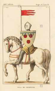 Peter Courtenay, Latin emperor (r. 1216-1217)