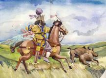 Shah Shapur II of the Sassanids (r. 309-379)
