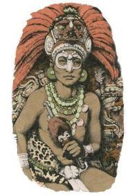 Mayan warrior Siyaj K'ak